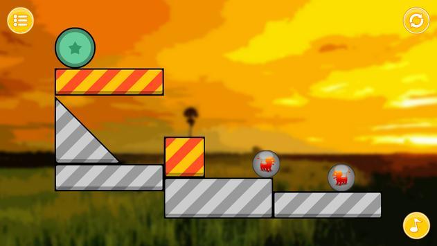 Lion Zooballs Physics Game poster
