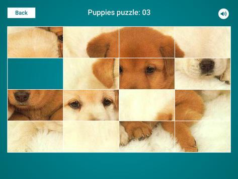 Puppies Sliding Jigsaw apk screenshot