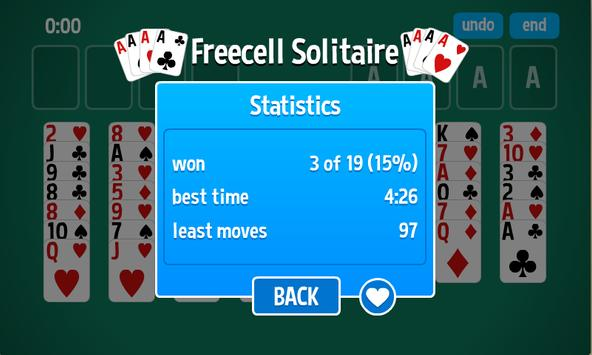 FreeCell Solitaire HD apk screenshot