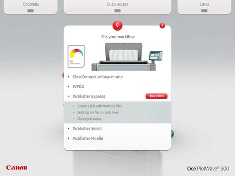 Océ PlotWave 500 screenshot 3
