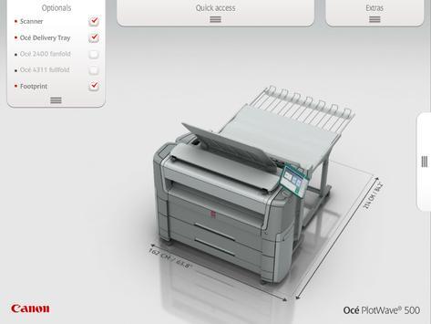 Océ PlotWave 500 screenshot 1
