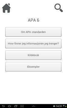 APA6 poster
