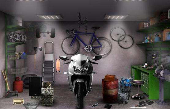 Can You Escape Bike Garage poster