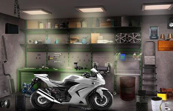 Can You Escape Bike Garage apk screenshot