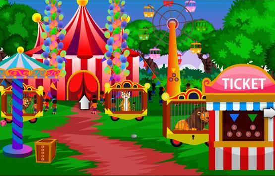 Escape Game - Circus Lion poster