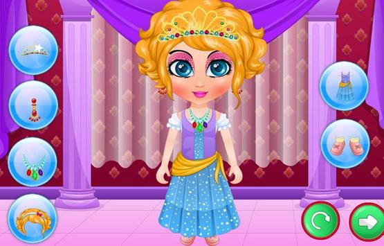 Baby Sana Princess Makeover screenshot 1