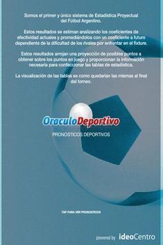 Oráculo Deportivo screenshot 1