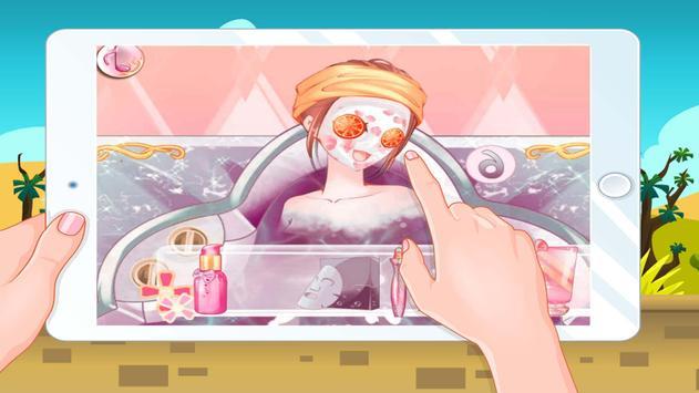 Anime Girls Games Dressup School-Girls games screenshot 3