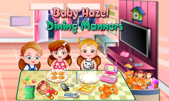 Baby Hazel Dining Manners poster