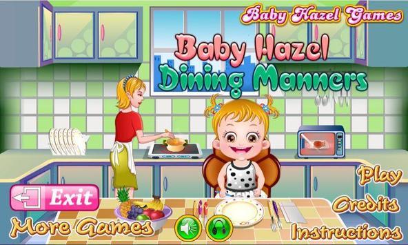 Baby Hazel Dining Manners screenshot 2
