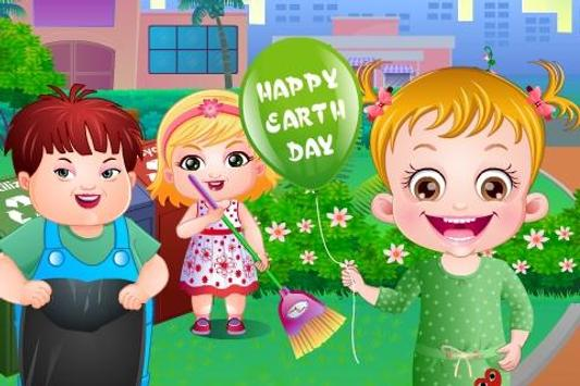 Baby Hazel Earth Day poster
