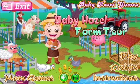 Baby Hazel Farm Tour poster
