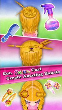 Baby Hazel Hair Day poster