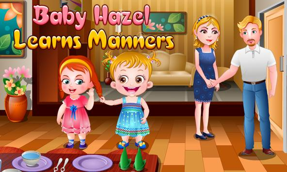Baby Hazel Learns Manners poster