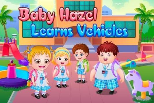 Baby Hazel Learns Vehicles apk screenshot