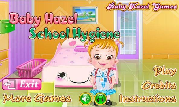 Baby Hazel School Hygiene poster