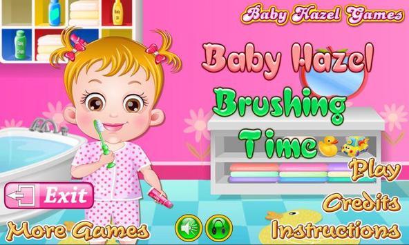 Baby Hazel Brushing Time poster