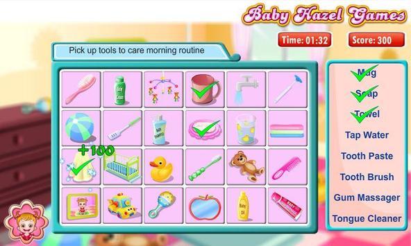 Baby Hazel Brushing Time screenshot 1