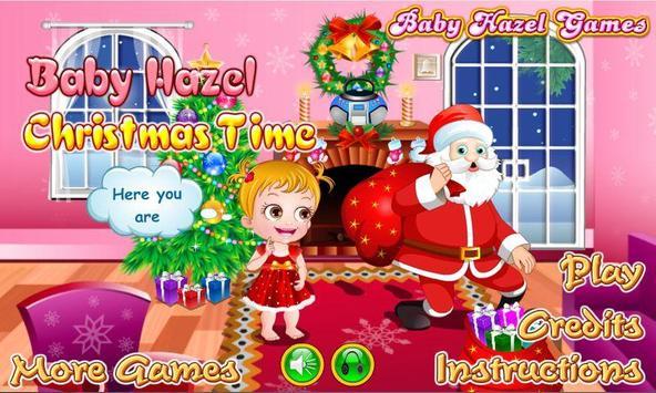 Baby Hazel Christmas Time poster