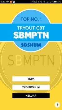 TOP NO. 1 TRYOUT CBT SBMPTN SOSHUM постер