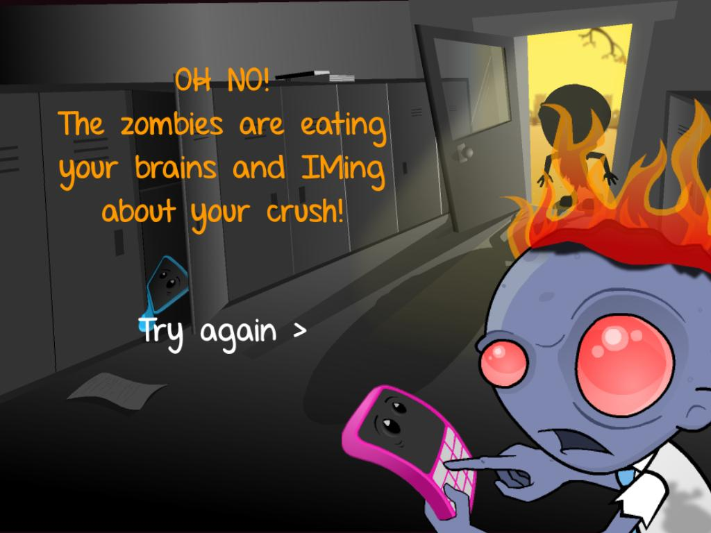 Cyberbully Zombies Attack 5
