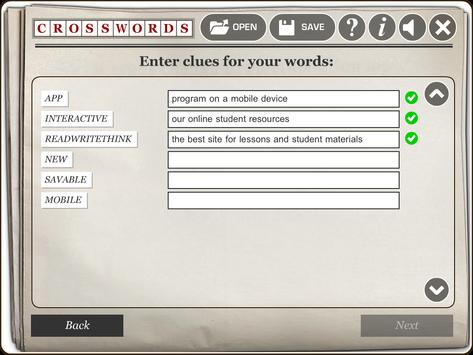 RWT Crossword screenshot 3