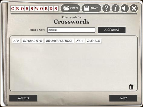 RWT Crossword screenshot 1