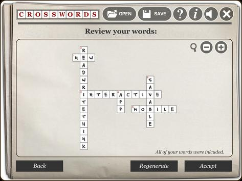 RWT Crossword screenshot 2
