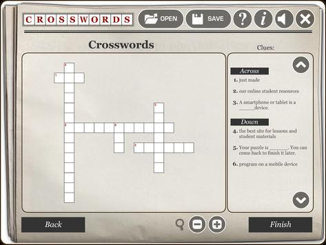 RWT Crossword screenshot 4