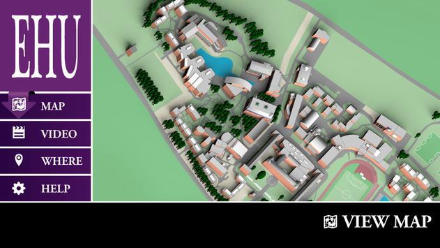 Edge Hill Uni Virtual Tour poster