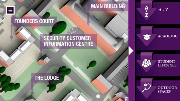 Edge Hill Uni Virtual Tour screenshot 1