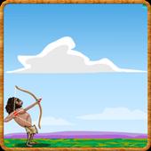 Caveman Games (archery) icon