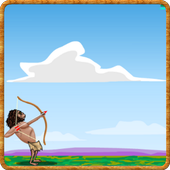 Caveman Games (archery) icon