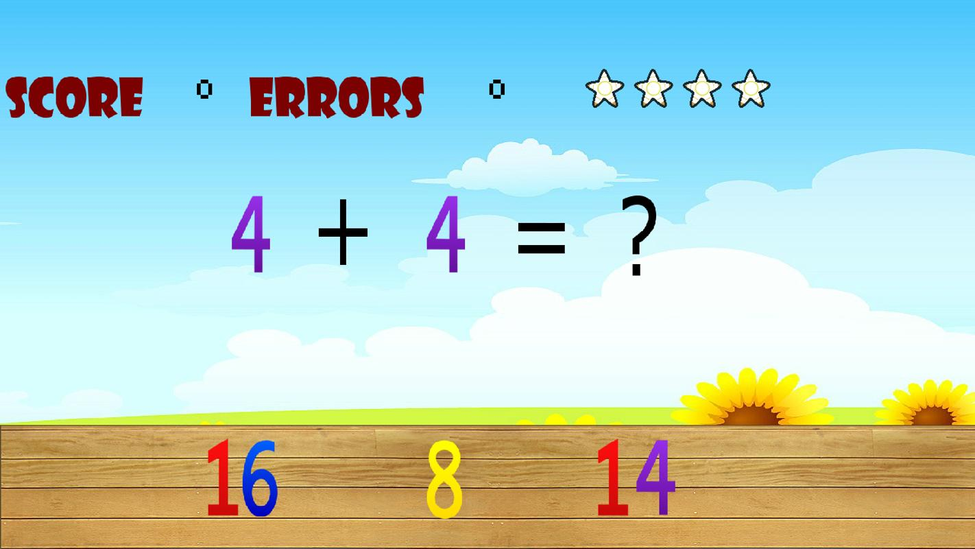 Math Sum & Subtraction APK Download - Free Educational GAME for ...