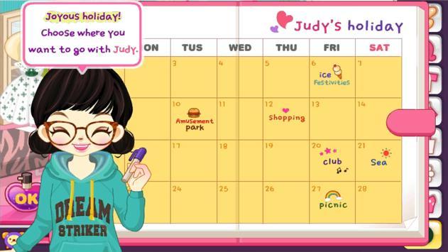 Judy's HolidayFashion-Dress Up screenshot 3