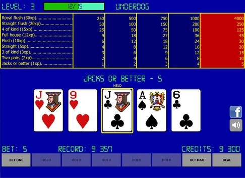 Video Poker - Jacks or Better apk screenshot