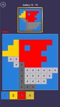 Pixel Sketch - Color by Number تصوير الشاشة 1