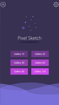 Pixel Sketch - Color by Number تصوير الشاشة 8