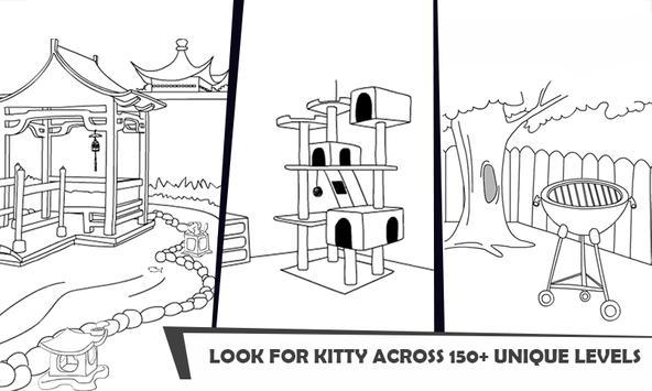 ネコの休暇日:行方不明の子ネコ スクリーンショット 4