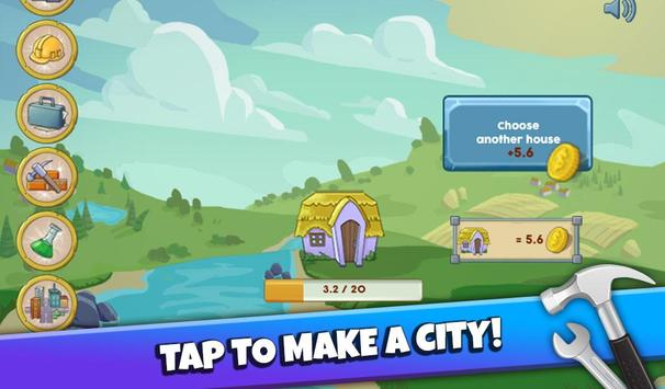 Make a City Idle Tycoon poster