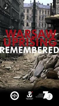 Warsaw Uprising Remembered poster