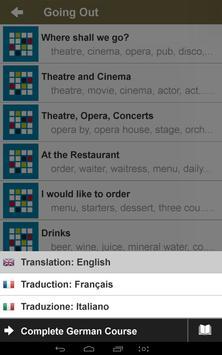 Easy Memo: Learn German apk screenshot