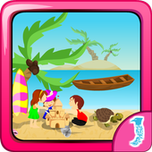 Pinky Marina Beach Cleaning icon