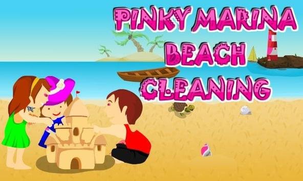 Pinky Marina Beach Cleaning apk screenshot