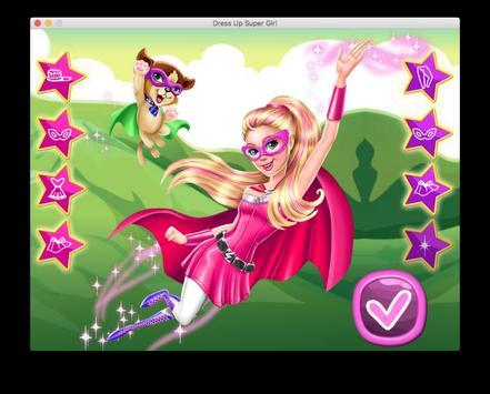 Dress Up Super Power Girl screenshot 11
