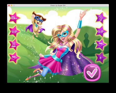 Dress Up Super Power Girl screenshot 9