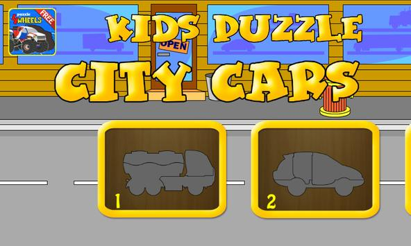Kids Puzzle - City Cars poster