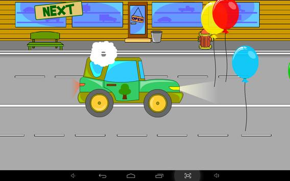 Kids Puzzle - City Cars apk screenshot
