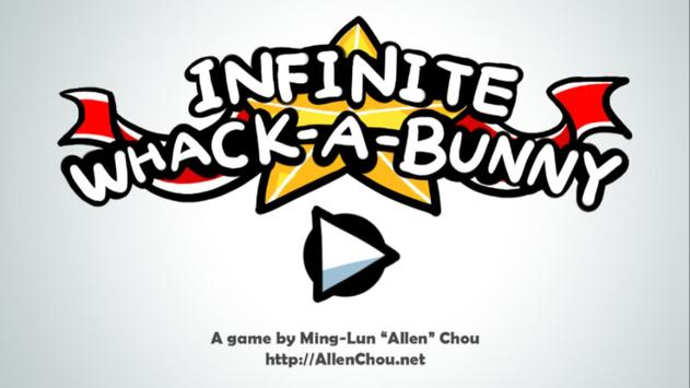 Infinite Whack-A-Bunny FREE poster