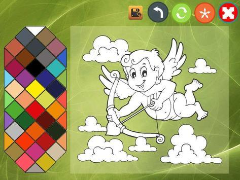 Angel coloring book screenshot 6